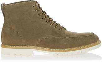 Mens Boohoo Man Worker Suedette Boot