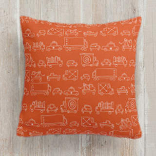 Traffic Square Pillow