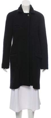 Isabel Marant Wool Blend Knee-Length Coat
