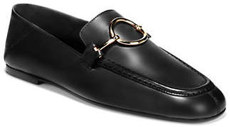 Via Spiga Abby Leather Bit Loafers