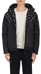 Canada Goose Men's Crawford Hoodie Down Jacket - Black Pat.