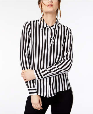 INC International Concepts I.n.c. Petite Striped Shirt, Created for Macy's