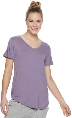 Sonoma Goods For Life Women's SONOMA Goods for Life Essential V-Neck Pajama Tee