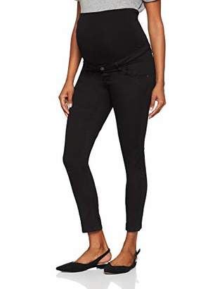 Esprit Women's Pants OTB 7/8 Slim Trousers, (Black 001)