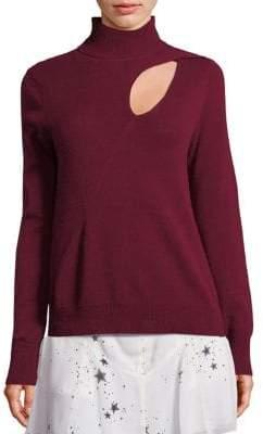 A.L.C. Wool & Cashmere Cutout Sweater
