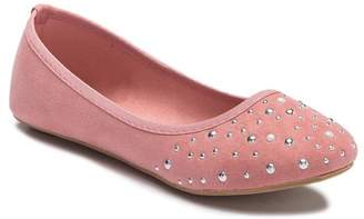 OLIVIA MILLER Pearl Ballet Flat (Little Kid & Big Kid)