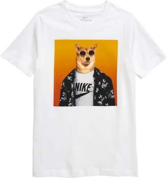 cee1082a Nike Sportswear Futura Animal Graphic T-Shirt