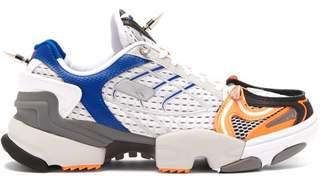 Vetements X Reebok Spike Runner 400 Low Top Trainers - Womens - Orange White