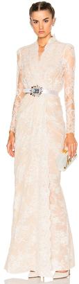 Alexander McQueen Sara Lace Wrap Dress $6,995 thestylecure.com