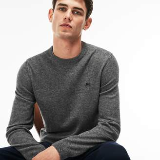 Lacoste Men's Crew Neck Cashmere Jersey Sweater