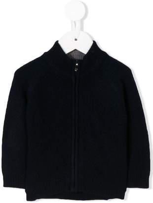 Il Gufo high collar zipped cardigan