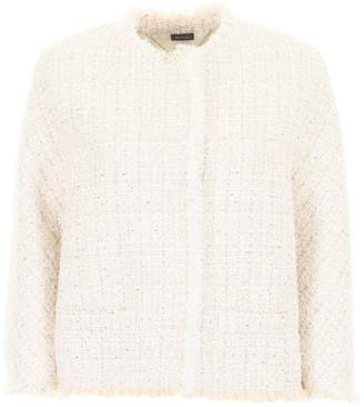 Alexander McQueen Soft Tweed Jacket