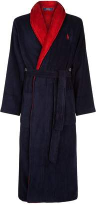 Polo Ralph Lauren Terry Cotton Logo Robe