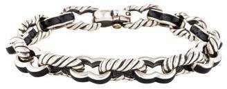 David Yurman Carter Enamel Link Bracelet