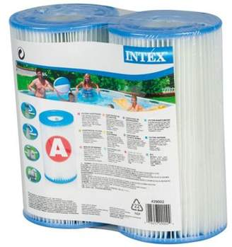 Intex Pools 29002 Type A Cartridge Filter- Pack Of 2
