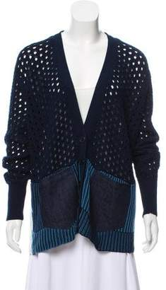 White + Warren Knitted Long Sleeve Cardigan
