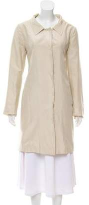 Prada Silk Trench Coat