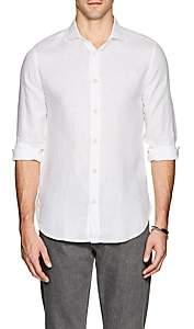 Bolzonella 1934 Men's Linen Shirt-White