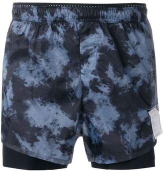Satisfy long-distance 3 tie-dye shorts