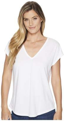 Lilla P Cut Out Back Tee Women's T Shirt