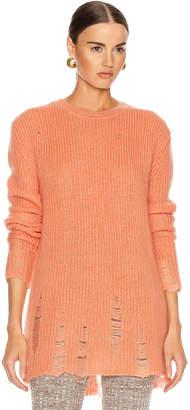 Jil Sander Long Sleeve Sweater in Coral | FWRD