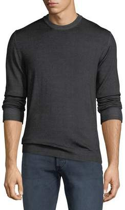 Belstaff Men's Blakemere Garment-Dyed Wool Sweater