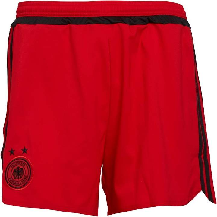 Damen DFB Germany Away Fußball Shorts Rot