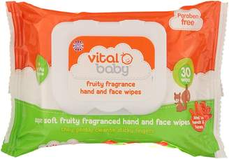 Vital Baby Fruity Fragrance Hand and Face Wipes