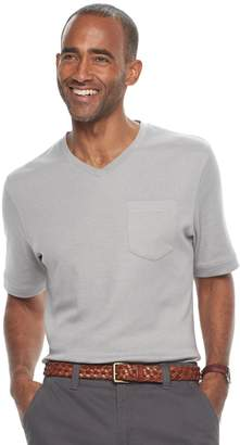 Croft & Barrow Men's V-Neck Interlock Performance Tee