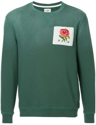 Kent & Curwen logo patch sweater