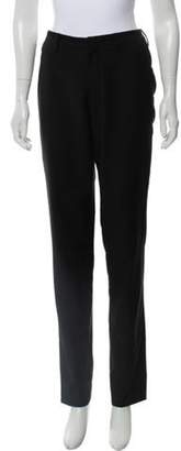 Lanvin Wool Straight-Leg Pants Black Wool Straight-Leg Pants