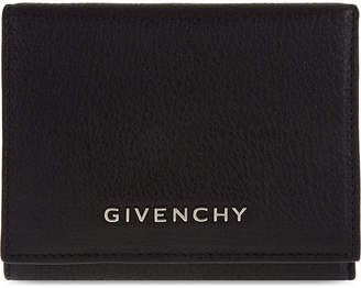 Givenchy Pandora goat leather trifold wallet, Black
