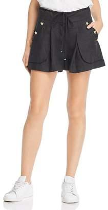 Co A Mere Anna High-Waist Shorts