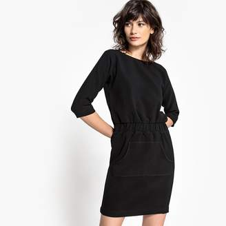 School Rag Dress with Pouch Pocket