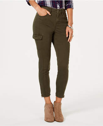 Style&Co. Style & Co Ankle-Zip Cargo Pants, Created for Macy's