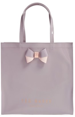 Ted Baker London 'Large Icon - Bow' Tote - Purple $59 thestylecure.com
