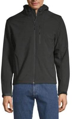 William Rast Full-Zip Hooded Jacket