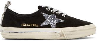 Golden Goose Black Suede California Sneakers