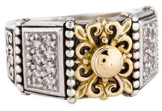 Konstantino Diamond Asteri Floral Ring