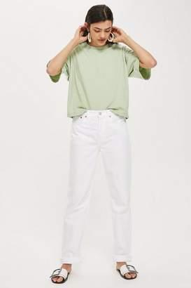 Topshop White New Boyfriend Jeans