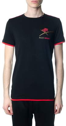 Philipp Plein Agile Black And Gold T-shirt
