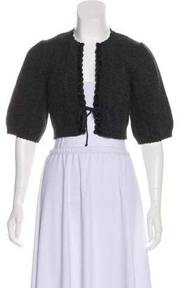 Chloé Wool Short Sleeve Shrug