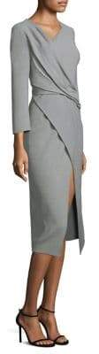 Jason Wu Wool Canvas Wrap Dress