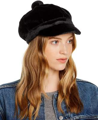 August Hat Company Faux Fur Newsboy Hat