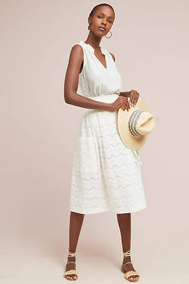Anthropologie Tracy Reese x Belted Waves Skirt