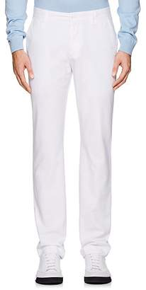 Barneys New York MEN'S PIMA COTTON STRAIGHT CHINOS