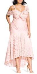 City Chic Femme Fatale Maxi Dress