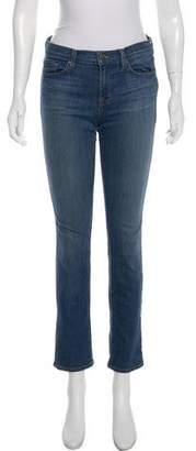 J Brand Petite Straight-Leg Jeans