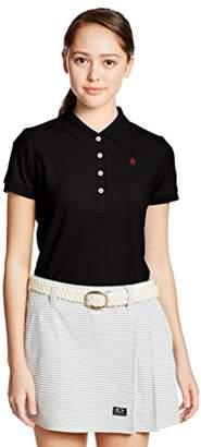 Munsingwear (マンシングウェア) - (マンシングウェア) Munsingwear(マンシングウェア) 半袖シャツ(ニット) XSL1600A N100ブラック M