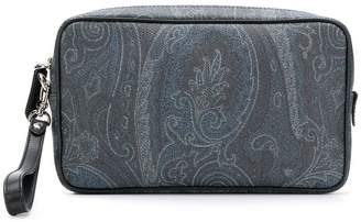 Etro leather clutch